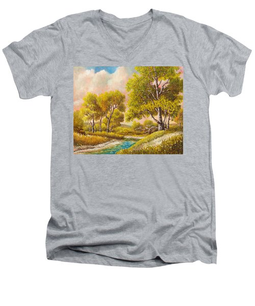 Afternoon Shade Men's V-Neck T-Shirt