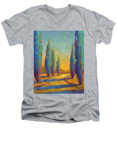 Afternoon Shadows 4 Men's V-Neck T-Shirt