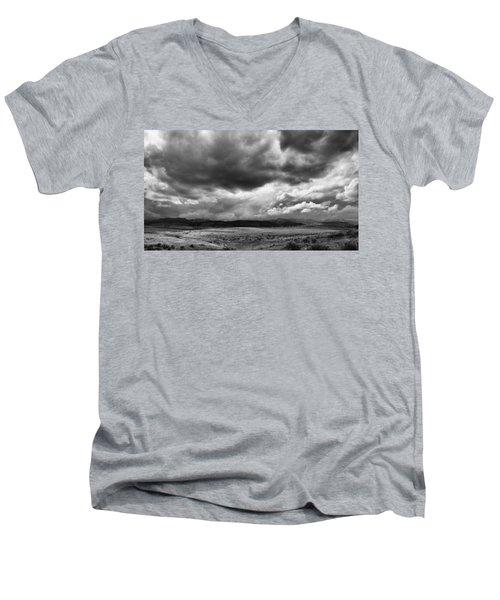 Afternoon Storm Couds Men's V-Neck T-Shirt by Monte Stevens