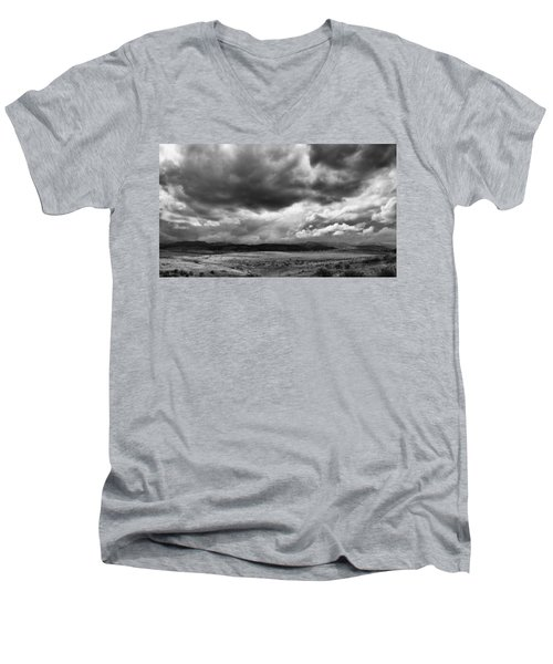 Afternoon Storm Couds Men's V-Neck T-Shirt
