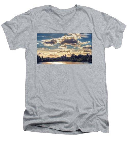 Afternoon Sun Men's V-Neck T-Shirt