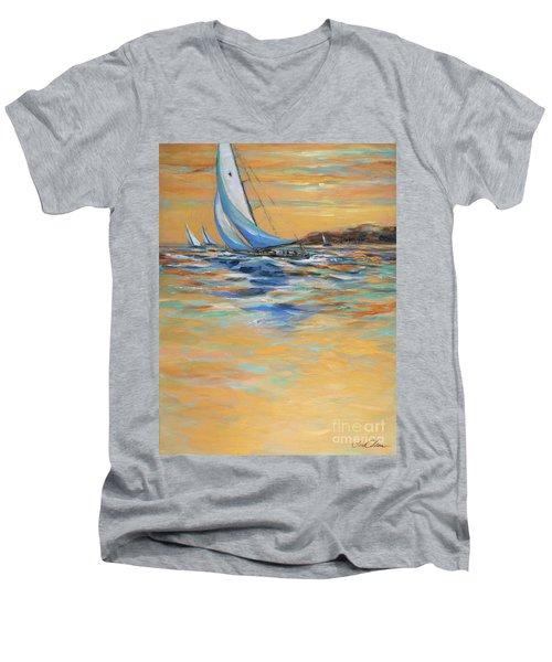 Afternoon Winds Men's V-Neck T-Shirt
