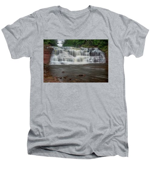 Agate Falls Men's V-Neck T-Shirt