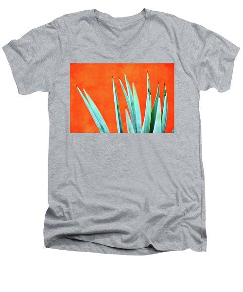 Agave 2 Men's V-Neck T-Shirt