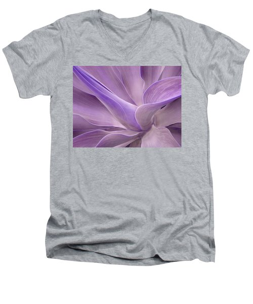 Agave Attenuata Abstract 2 Men's V-Neck T-Shirt
