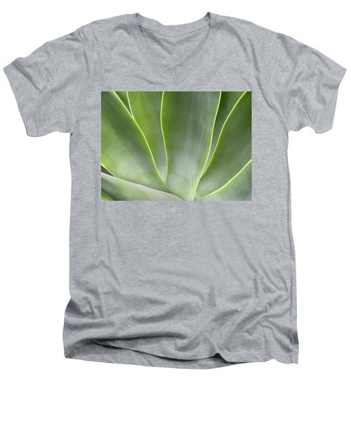 Agave Leaves Men's V-Neck T-Shirt