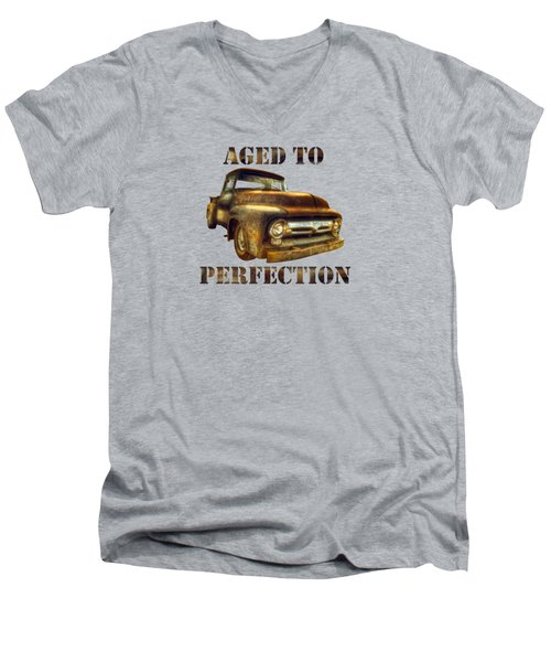 Aged To Perfection Men's V-Neck T-Shirt