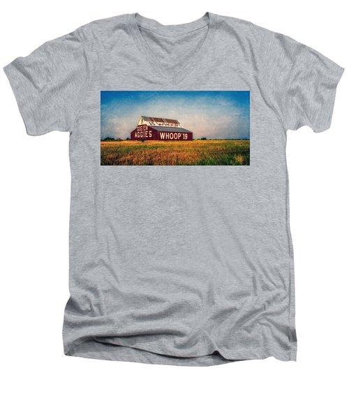 Aggie Barn 2015 Men's V-Neck T-Shirt