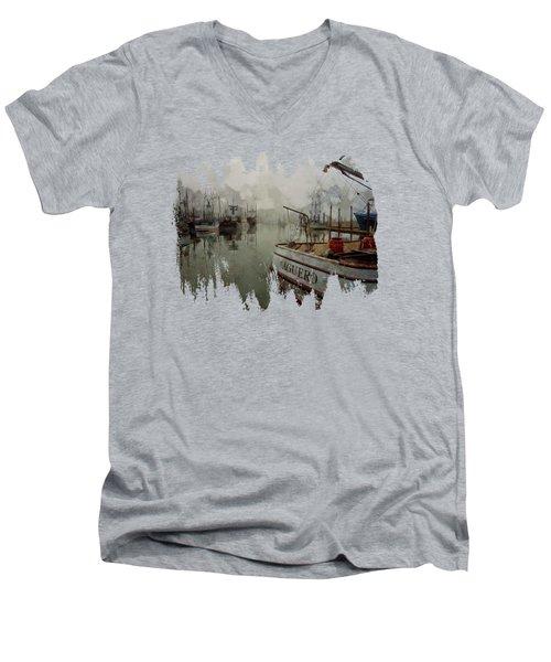 Aguero Men's V-Neck T-Shirt