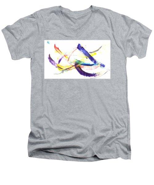 Ah Ha Moment Men's V-Neck T-Shirt
