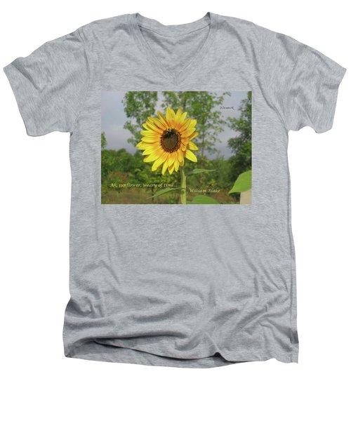 Ah, Sunflower Men's V-Neck T-Shirt