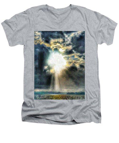 Ahhhh The Sun Men's V-Neck T-Shirt