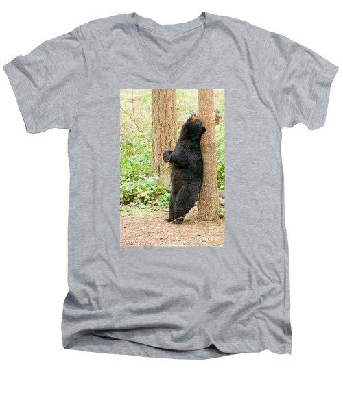 Ahhhhhh Men's V-Neck T-Shirt by Sean Griffin