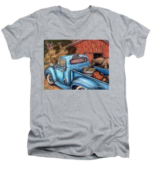Ahh...the Good Life Men's V-Neck T-Shirt