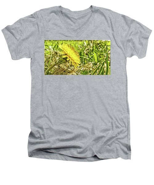 Men's V-Neck T-Shirt featuring the photograph Aim High by Robert Knight