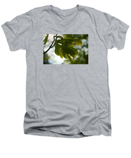 Air And Breeze Men's V-Neck T-Shirt by Tina M Wenger