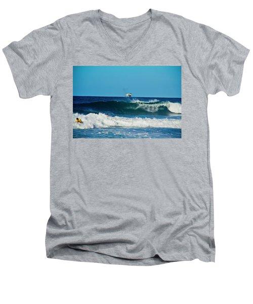 Air Bourne Men's V-Neck T-Shirt