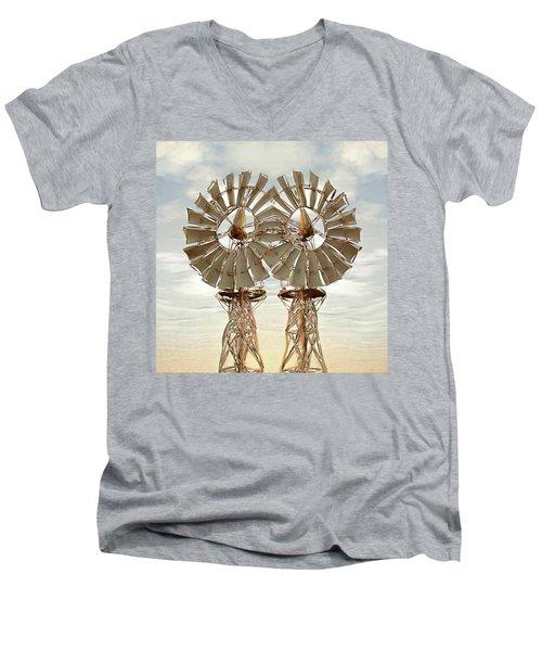 Air Pair Men's V-Neck T-Shirt