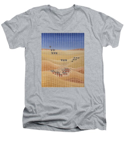 Air Power Men's V-Neck T-Shirt