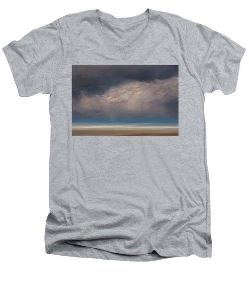 Born To Fly Men's V-Neck T-Shirt