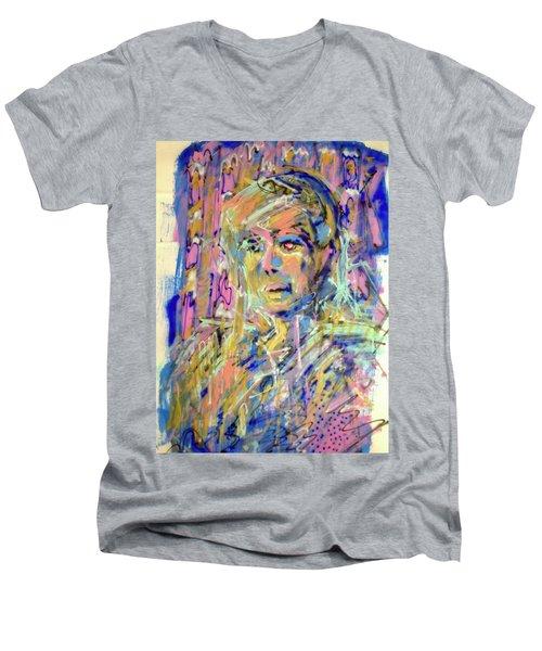 Airbrush 2 Men's V-Neck T-Shirt