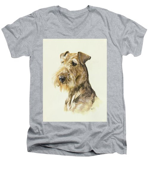 Airedale Men's V-Neck T-Shirt
