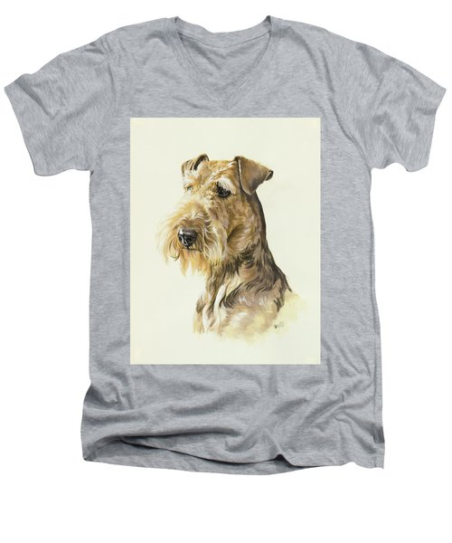 Airedale Men's V-Neck T-Shirt