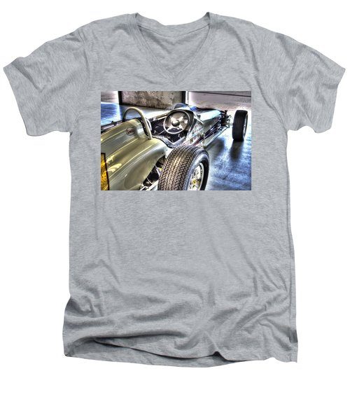 Aj Foyts Roadster Men's V-Neck T-Shirt by Josh Williams