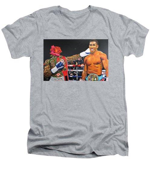 Aj Omo Oduduwa The World Champion Men's V-Neck T-Shirt