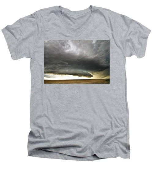 Akron Co Beast Men's V-Neck T-Shirt