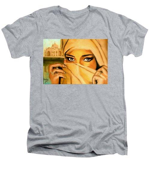 Al-andalus-3 Men's V-Neck T-Shirt