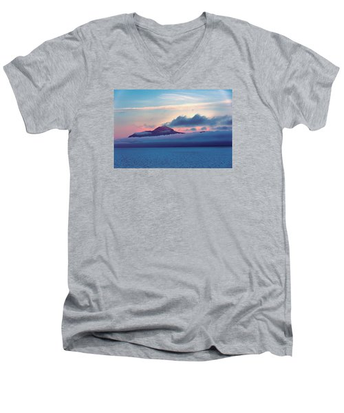 Alaska Dawn Men's V-Neck T-Shirt
