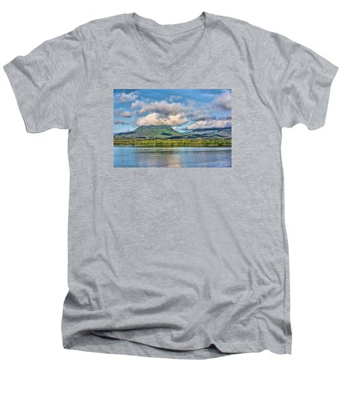 Alaska Morning Men's V-Neck T-Shirt