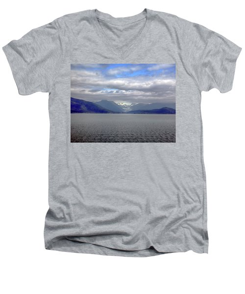 Alaskan Coast 2 Men's V-Neck T-Shirt