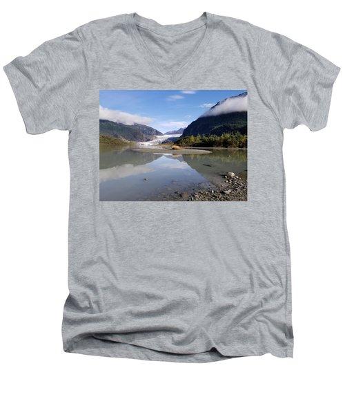 Alaskan Reflections Men's V-Neck T-Shirt