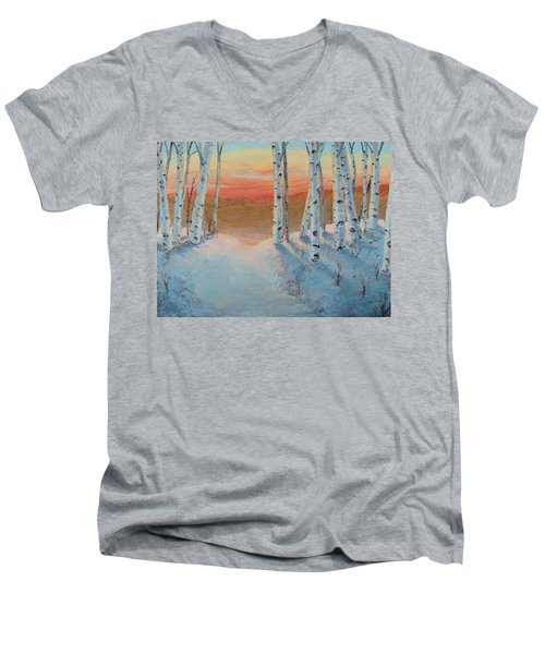 Alaskan Road Men's V-Neck T-Shirt