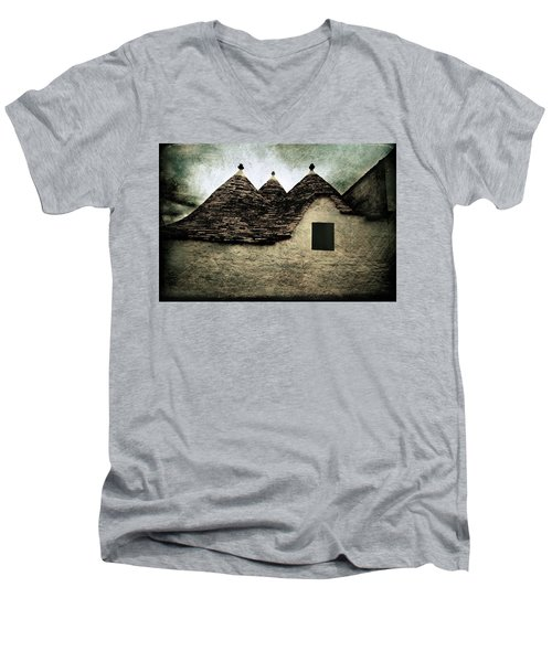 Alberobello - Trulli Men's V-Neck T-Shirt