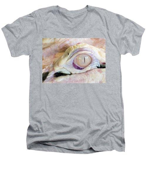 Albino Alligator Men's V-Neck T-Shirt