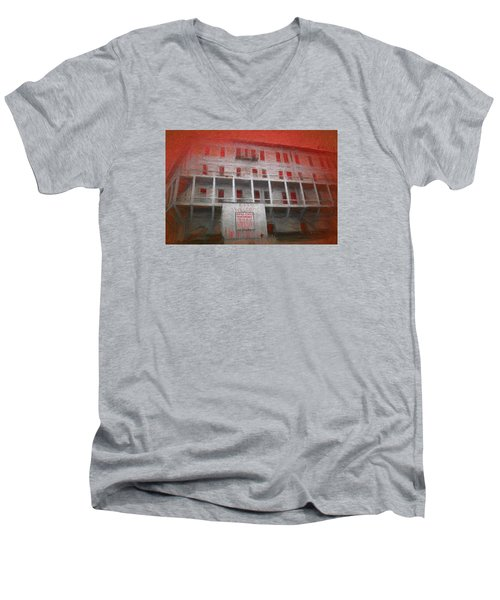 Alcatraz Federal Penitentiary Men's V-Neck T-Shirt
