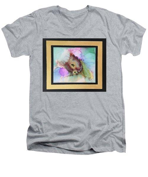 Alcoholic Flower Men's V-Neck T-Shirt by Karin Eisermann