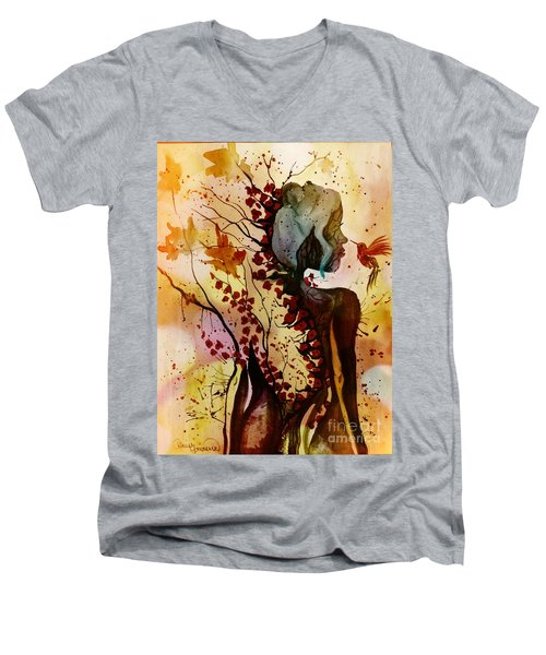 Alex In Wonderland Men's V-Neck T-Shirt