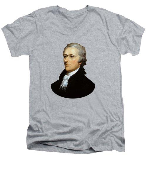 Alexander Hamilton Men's V-Neck T-Shirt