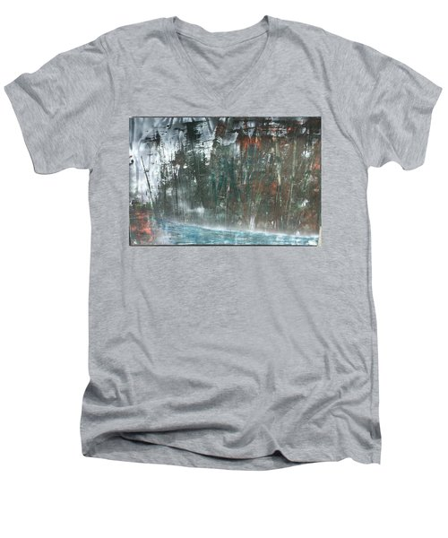 Algonquin Forest River Men's V-Neck T-Shirt