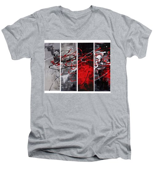 Algorithm Men's V-Neck T-Shirt