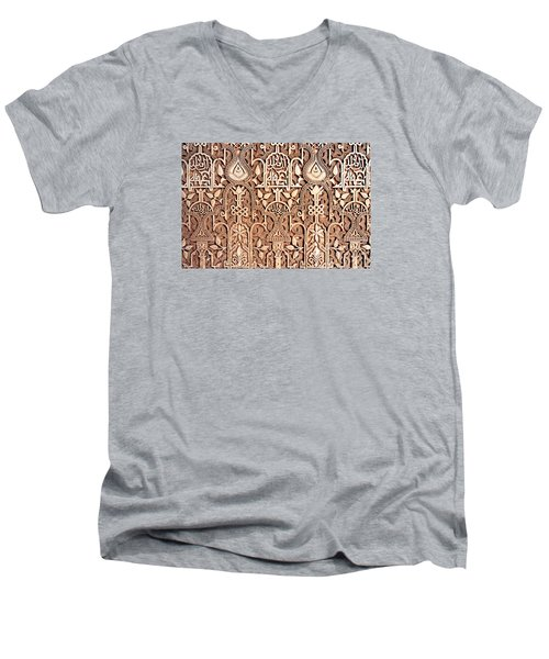 Alhambra Wall Section Men's V-Neck T-Shirt