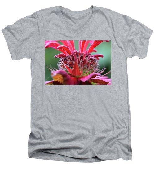 Alien Plant Life Men's V-Neck T-Shirt by David Stasiak