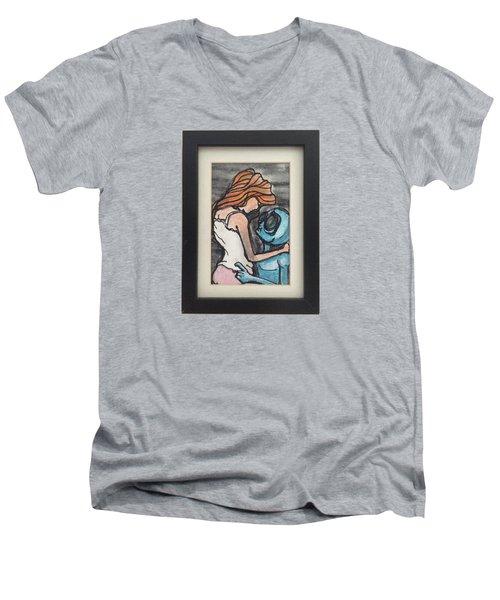 Alien Seduction Men's V-Neck T-Shirt