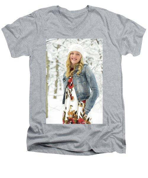 Alison Men's V-Neck T-Shirt