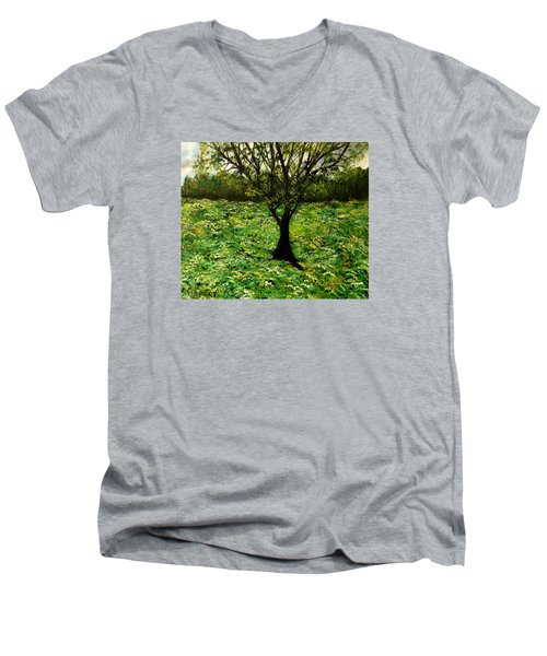 All Around The Turmoil Men's V-Neck T-Shirt