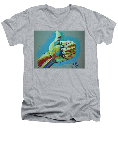 All Good Men's V-Neck T-Shirt